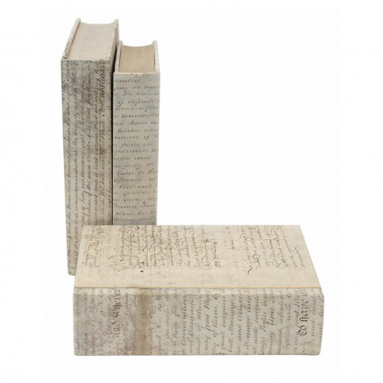 Large Vellum Covered Books