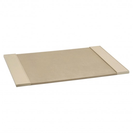 Italian Ivory Leather Desk Blotter