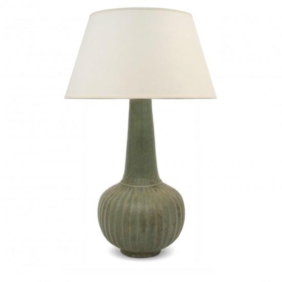 Thai Stoneware Table Lamp