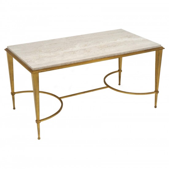 Gilt Iron Coffee Table By Ramsay