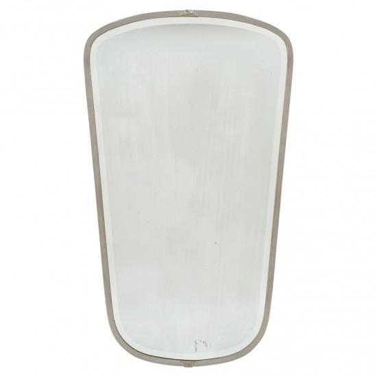 Gio Ponti Nickel Plated Mirror