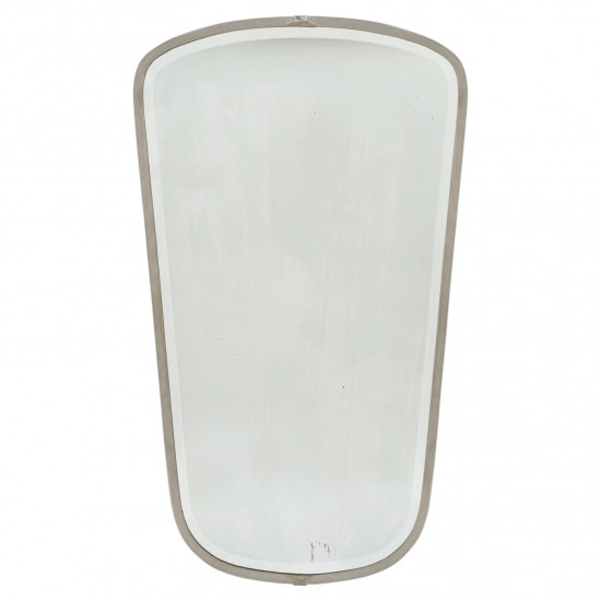 Gio Ponti Nickel Plated Mirror