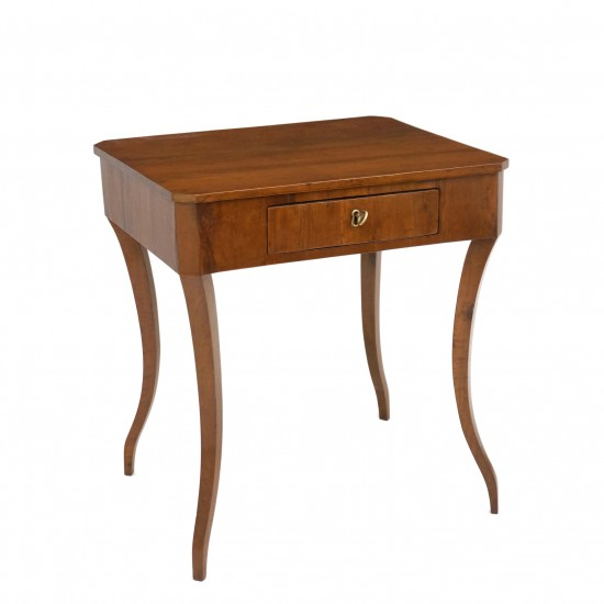 Venetian Walnut Side Table