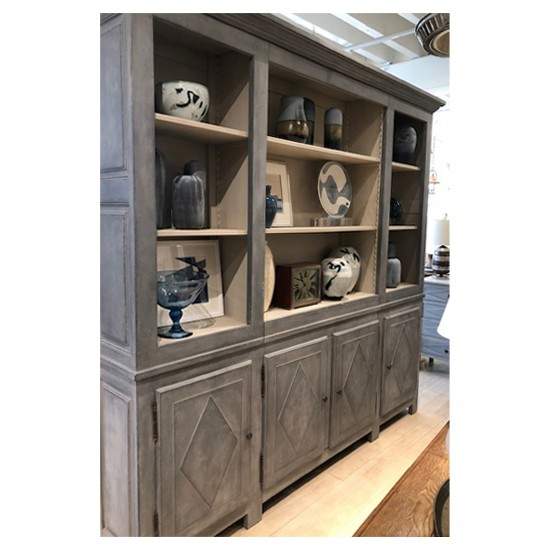 Painted Cabinet Bookcase