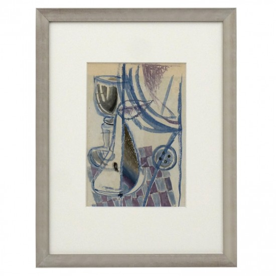 Abstract Still Life Painting by Michel Debieve