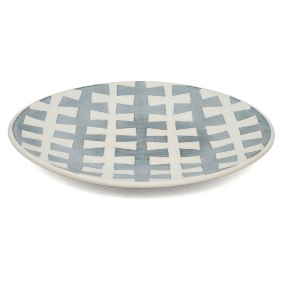 Studio Art Blue and White Porcelain Platter