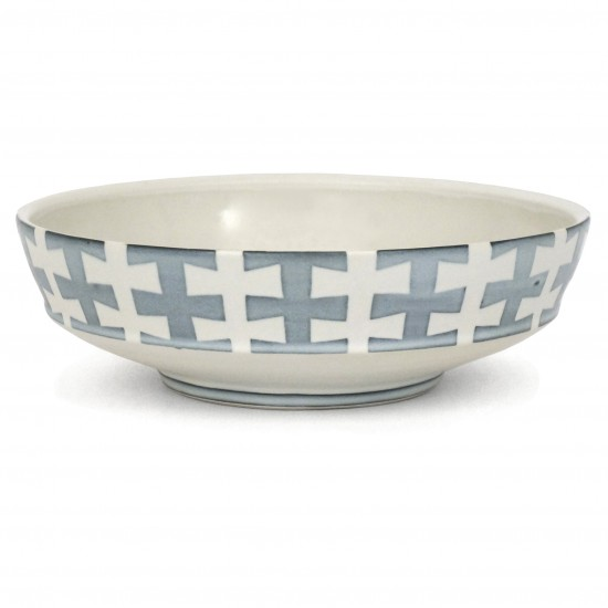 Porcelain Bowl in Blue and White