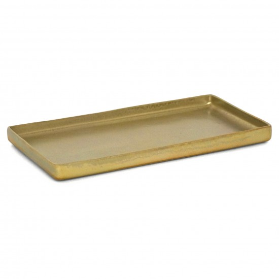 Rectangular Gold Plate