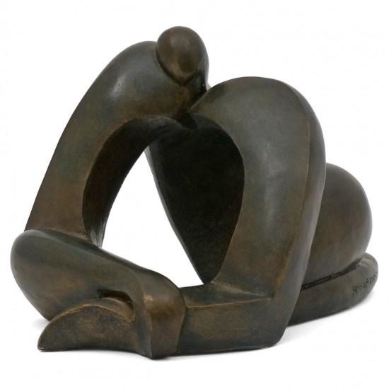 Terra Cotta Figural Sculpture