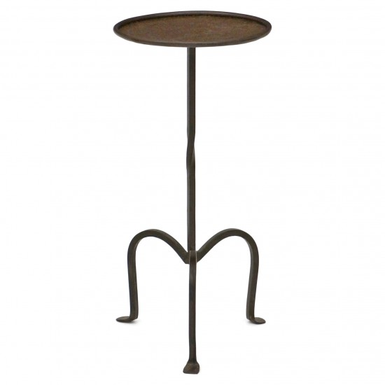 Iron Table on Tripod Base