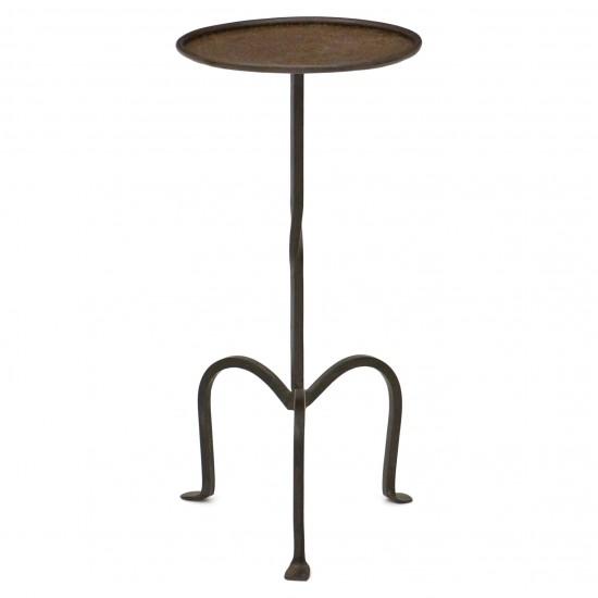 Iron Table on Tripod Base