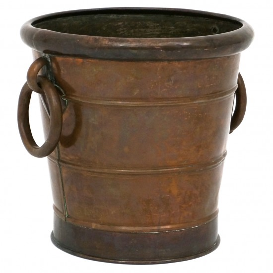 French Copper Bucket