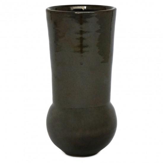 Graphite Ceramic Vase