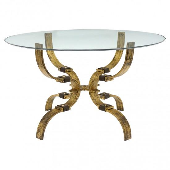 Spanish Gilt Iron Table