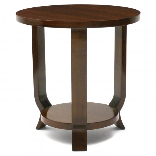Two Tiered Rosewood Side Table