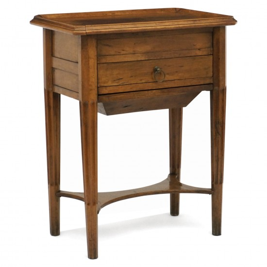 French Small Walnut Table