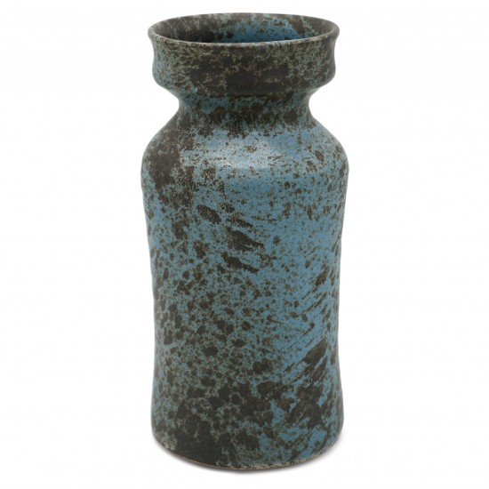 Dutch Blue and Brown Vase