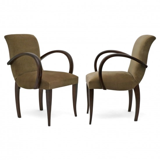 Pair of Upholstered Side Chairs