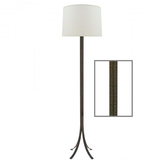 Metal Standing Lamp by Pierre Lottier