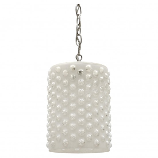 Italian Frosted Glass Pendant Fixture