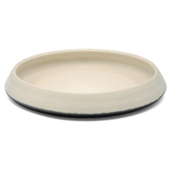 Round White Ceramic Bowl