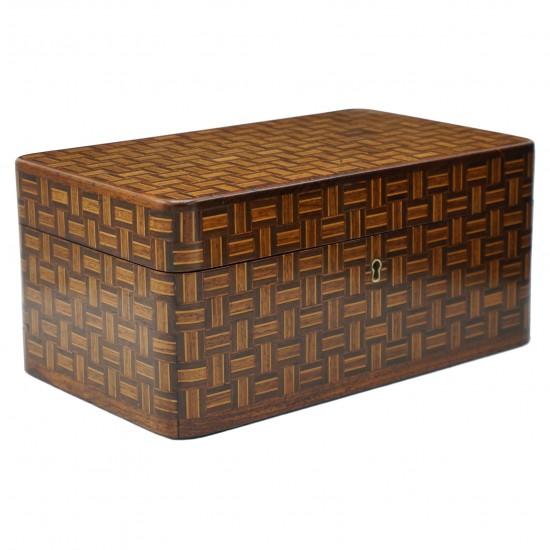 Multi-Wood Inlaid Box