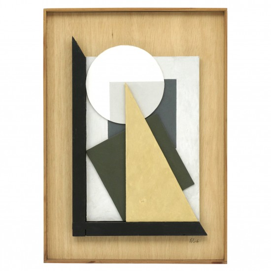Wood Abstract Collage