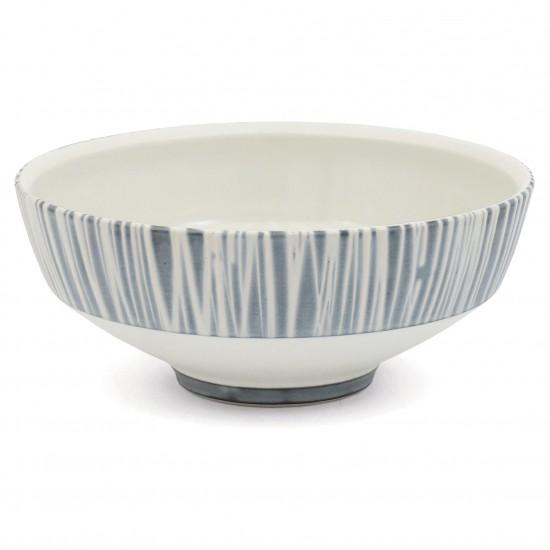 Large Blue and White Porcelain Bowl