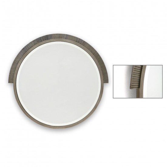Silvered Bronze Mirror